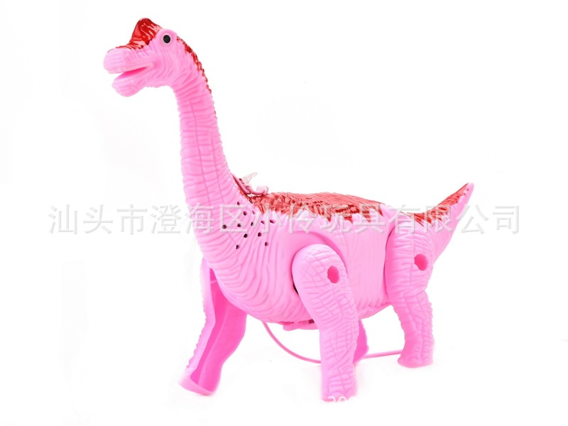 Educational Electric Leash Dinosaur Light Included Light Music Walk Bracing Wire Dinosaur Children Hot Selling Stall Toy