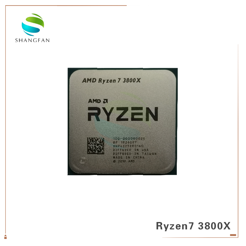 Amd Ryzen 7 3800x R7 3800x 3 9 Ghz 7nm L3 32m 100 000000025 105w Eight Core Sixteen Thread Cpu Processor Socket Am4 Cpus Aliexpress