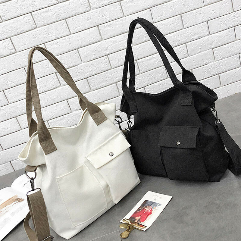Women Satchel Shoulder Bag Tote Messenger Crossbody Large Canvas Bags Handbag US