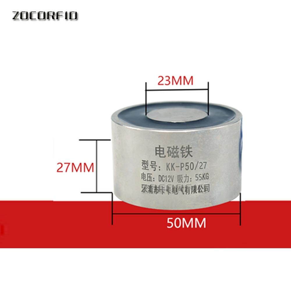 P50/27 DC 50KG(500N) Holding Force Electromagnet /50KG Magnetic suction 12V or 24V