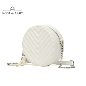 White Round Bags Women Fashion Ladies Crossbody Bags Shoulder Design Famous Brand Bags for Women 2020 New luxury handbags famous brand luxury leather bag women messenger bags crossbody bag female fashion shoulder bags for women clutch brand handbags