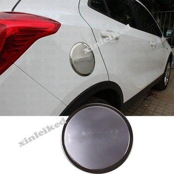 Modificación de coche accesorios de coche para BUICK ENCORE 2013-2019 tapa de la cubierta de la puerta del tanque de gasolina inoxidable cromo LOOK TRIM