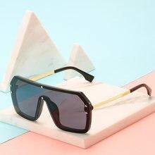 Солнцезащитные очки в стиле хип хоп с увеличенной большой оправой
