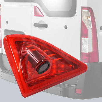 12V Car Brake Light Rear View Camera Reverse Backup 3RD Night Vision Parking for 2010-2016 Master/Nissan NV400/Opel Movano