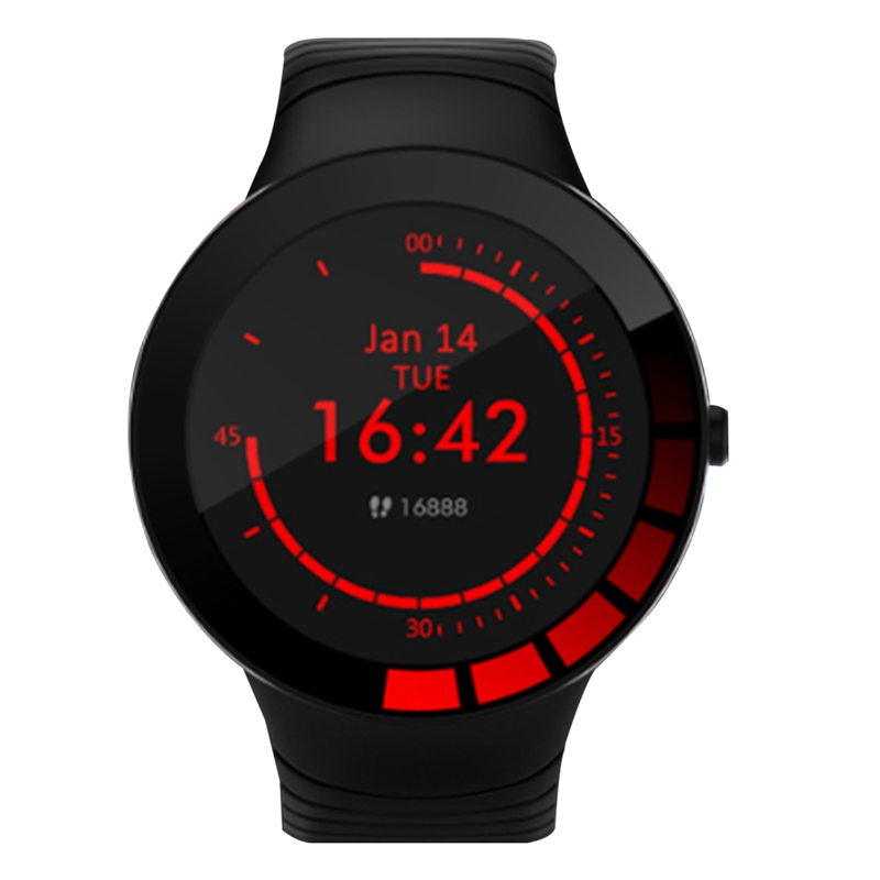 E3 Intelligent Bracelet Temperature Detection Health Tracking Full Round Full Press Screen IP68 Waterproof Smart Watch