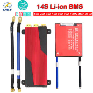 Protection-Board Tricycle 200A Lithium-Battery 100A Lipo Daly Bms 14S 250A Li-Ion Balance