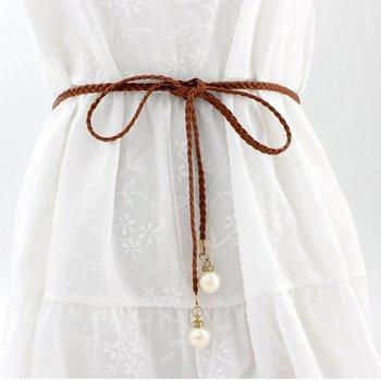 Women Belts Leaf Shape Belt Metal Leaves Cummerbund Clasp Front Stretch Waistband Gold Silver Elastic Waist Belt 6