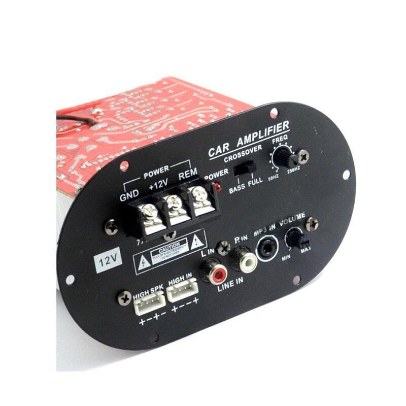 12V 120W S80B Full Tone / Pure Bass Power Amplifier Board 8-12 Inch Subwoofer Core