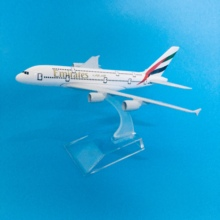 цена на JASON TUTU Plane Model Airplane Model Aircraft Model Diecast Metal 1:400 Emirates Airbus A380 16cm Airplanes Turkey Boeing 777