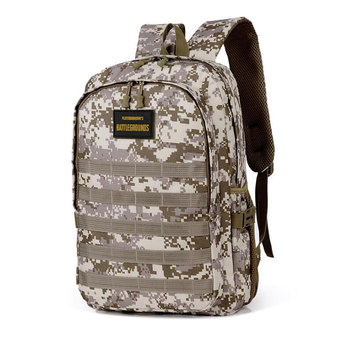 Jedi Survival Three-level Backpack Waterproof Climbing Bag Student Computer Package Camouflage Schoolbag 1
