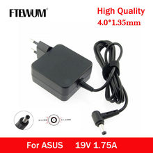 EU 19V 1.75A 4.0*1.35mm 33W Power Adapter AC Laptop Charger For ASUS ADP-33AW S200E X202E X201E Q200 S200L S220 X453M F453 X403M