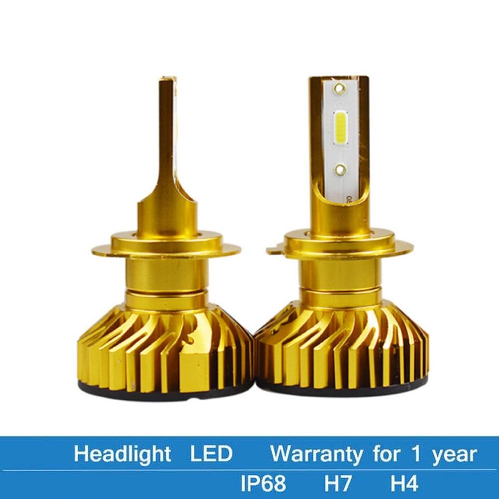 Elglux 12000LM H11 H1 H4 H7 LED Canbus No Error Car Headlight Bulbs 80W 6000K 4300K 8000K 9005 9006 H8 Auto Fog Lights 12V