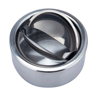 Stainless Steel Ashtray Windproof Household Round Ashtray For Men Smoking Accessories Household Merchandises