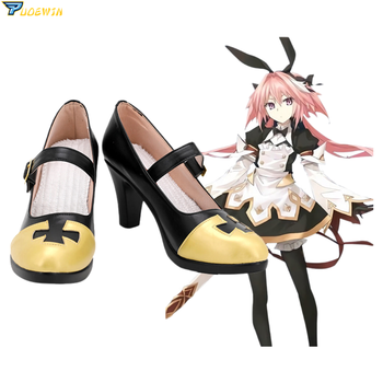 FGO Fate Grand Order Saber Astolfo Cosplay Shoes Halloween Carnival Custom Made Boots anime voltron legendary defender keith boots cosplay shoes custom made