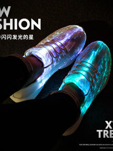 Shoes Glowing Sneakers Light-Up Girls Boys Women Led for USB Recharge Man New Summer