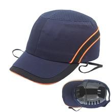 New Bump Sicuro Berretto Da Baseball Del Cappello di Stile di Protezione Hi Viz Anti collisione Cappello Duro Casco di Protezione della Testa di Lavoro di sicurezza di Riparazione