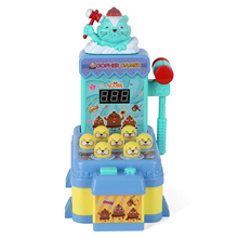 Whack A Mole Electronic Arcade Game 7 Hamsters Educational Interactive Pounding Montesori Toys For Chidlren Adults Happy Baby