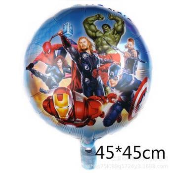 10pcs Super Hero Balloon Latex Balloons Spiderman Kids Spider man Birthday Party Decoration Baby Shower Balloons 8