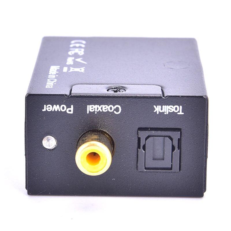 Digital Analog Audio Converter Optical Fiber Toslink Coaxial ATV DAC Amplifier