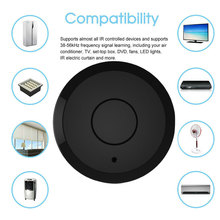 цена на Smart IR WiFi Home Remote Control Compatible with TV Air Conditioner Lamp AS99