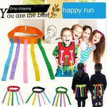 Toys Outdoor Training-Equipment Group Games Sports-Game Kids Adult/children Vest Kindergarten