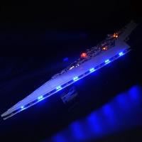 lepinbricks remote control LED Light Set For 05028 Super Star Destroyer wars Compatible with 10221 Building blocks Toy Gifts