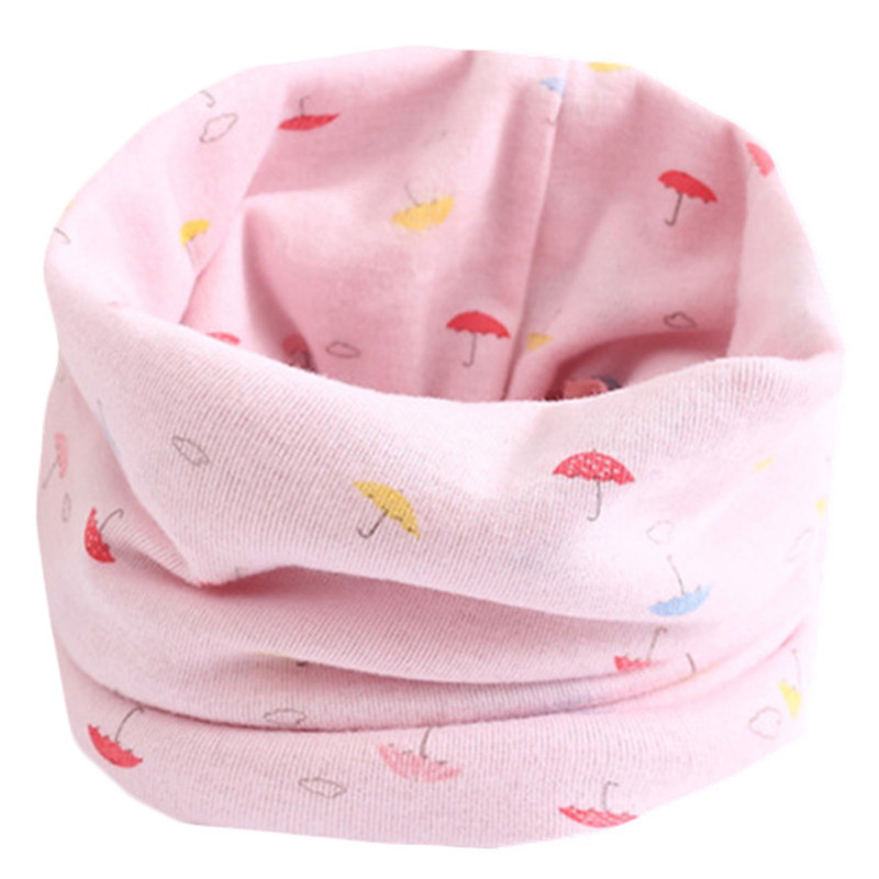 Весенне-осенне-зимний детский хлопковый шарф для От 0 до 10 лет, Детские шарфы с героями мультфильмов, модный теплый воротник - Цвет: 13