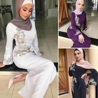 Elegant Abaya Dubai Muslim Dress Abayas For Women Kaftan Caftan Turkish Dresses Prayer Islamic Clothing Robe Femme Oman Ladies