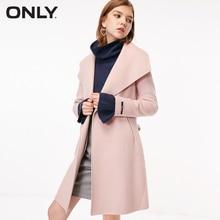 Abrigo de lana Cinched Waist para Mujer | 11834S527
