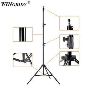 Image 4 - Led リングライト 16 センチメートル 26 センチメートル 5600 18k 64 led selfie リングランプ写真照明三脚電話ホルダー u
