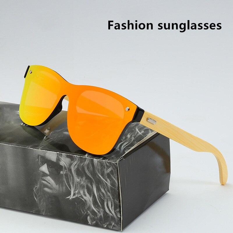Óculos de sol de madeira natural homem polarizado moda motorista óculos de sol original