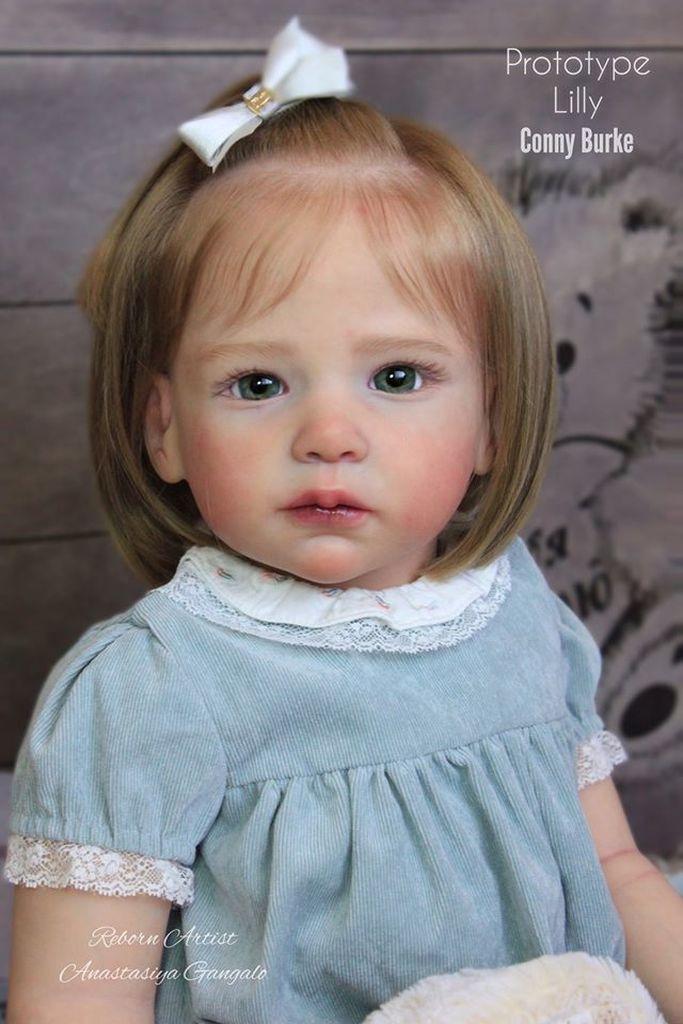 70 см, огромный ребенок, 28 дюймов, новорожденный малыш, Лилли, новорожденный, виниловая кукла, комплект необработанных деталей куклы