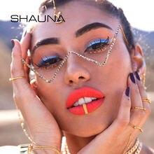 Женские декоративные оправы для очков shauna без линз в стиле