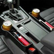 Car Seat Organizer Crevice Storage Box Car Organizer Gap Slit Filler Holder For Wallet Phone Slit Pocket Auto Car Accessories