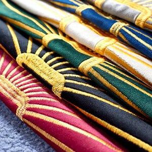 Image 4 - Housse doreiller de luxe brodée or, housse de coussin, en velours, pour canapé, décoration nordique, bleu, vert