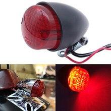 Feu arrière de moto à LED, en métal, rétro, feu de stop, pour Harley Cruise Prince, phare arrière reconditionné