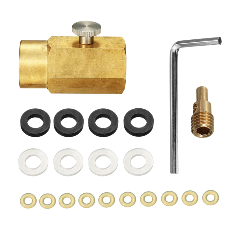 Co2 Cylinder Refill Adapter Connector Kit Cga320 Thread Set for Filling Soda Maker Sodastream Tank|Connectors| |  - title=