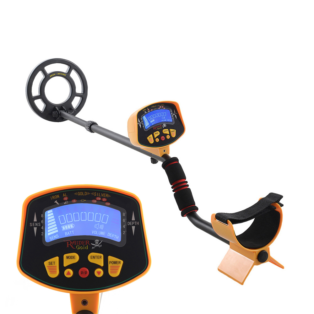 MD-3010II Under Ground Metal Detector Md-3010ii Gold Pinpointer Gold Digger Garrett Treasure Hunter Waterproof Coil