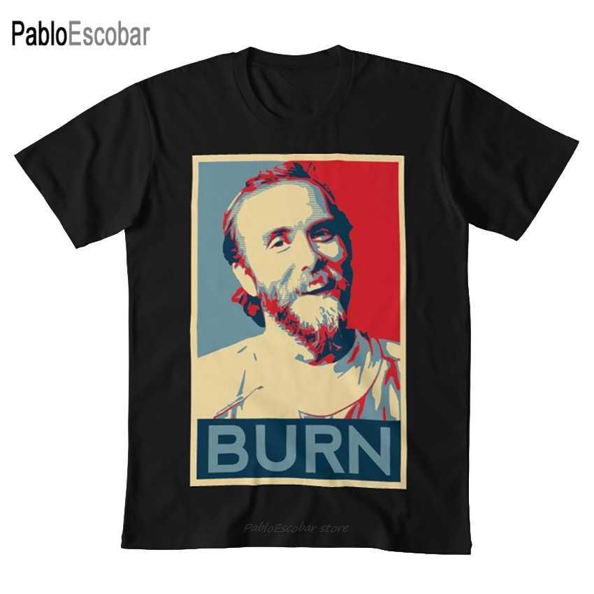 Serigala Vikernes-Membakar T Shirt Serigala Vikernes Burzum Serigala Membakar Gereja Gereja Api Meme Berharap Poster Harapan