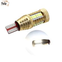YOLU Car LED Bulb W16W T15 4014 32smd 1smd Reversing Light Turning Headlights Lamp Lights