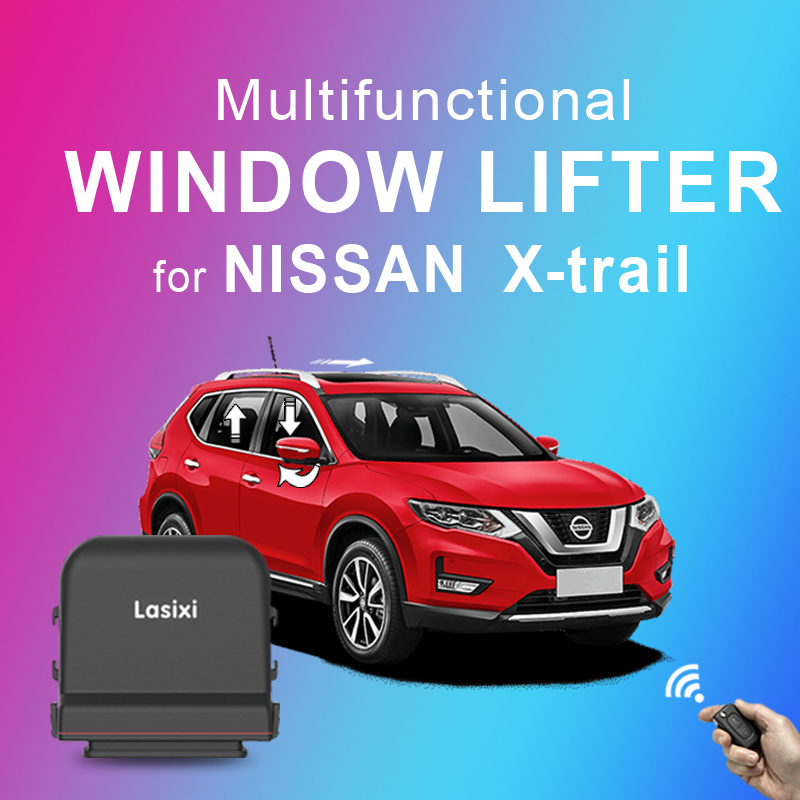 Power Window Closer For NIssan X-trail Folding Rear Mirror Sunroof Opening Closing Modul 2014-2017 2018 2019 2015