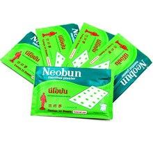 10 pièces/sac nouvelle thaïlande Neobun soulagement de la douleur patch traitement rhumatisme arthrit taille douleur Muscle menthol plâtre Anti-inflammatoire