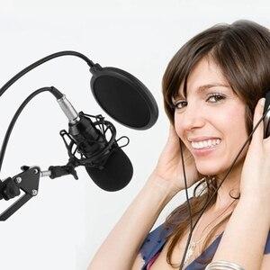 Image 4 - Bm800 profesyonel süspansiyon mikrofon kiti stüdyo canlı akışı yayın kayıt kondenser mikrofon seti