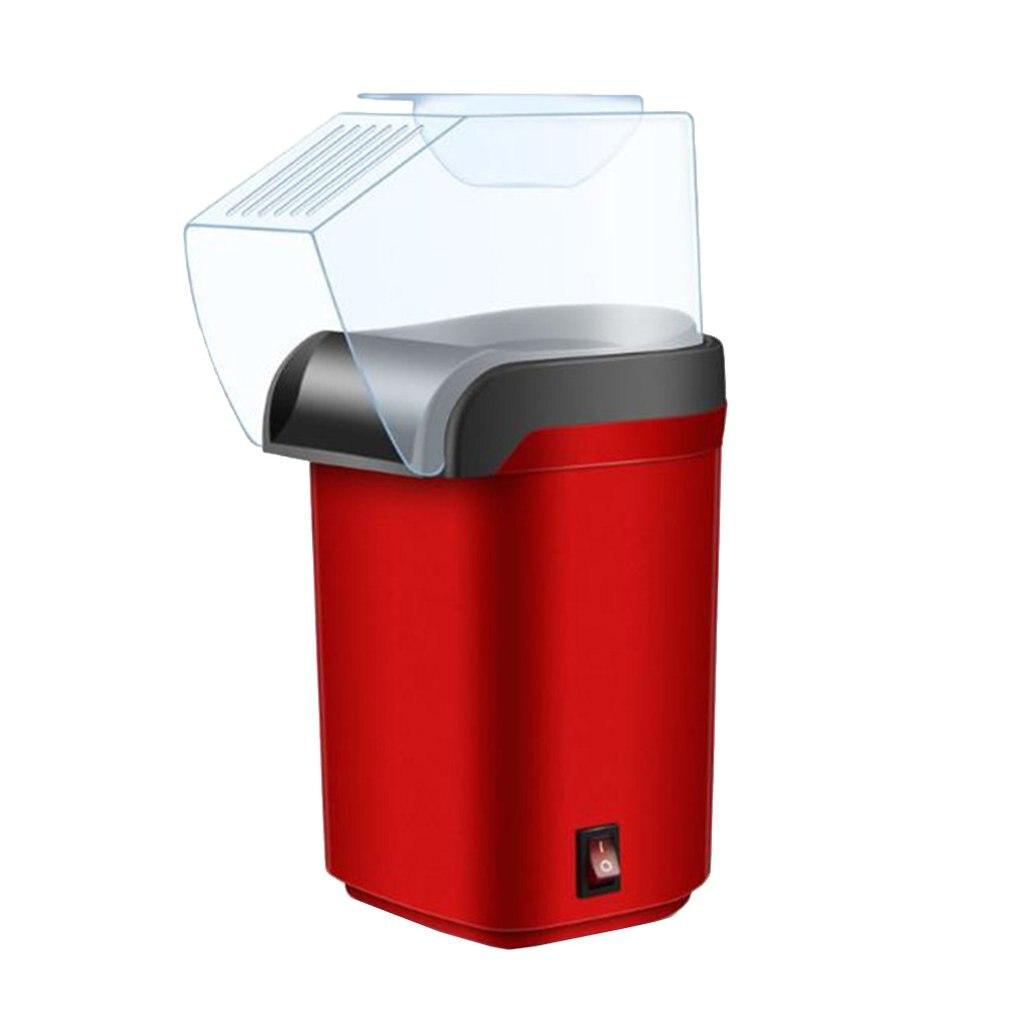 מכונת פופקורן האוויר חם פופקורן יצרנית שמן רחב-קליבר פופקורן כלי ביתי חשמלי מכונת פופקורן מיני תירס פופר