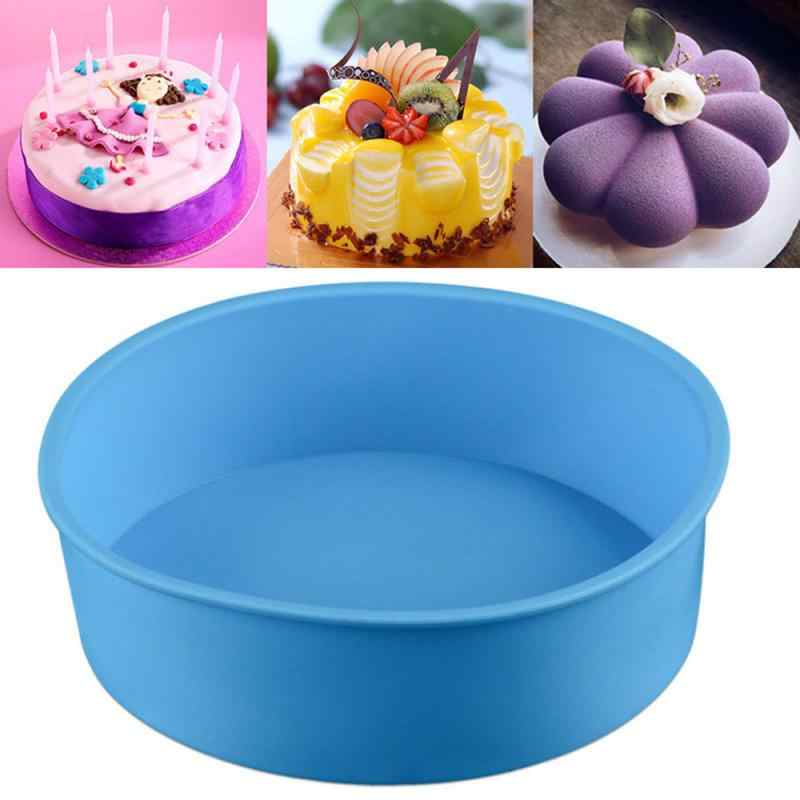 NEW SILICONE CAKE BAKING 2 SET LOAF MOULD /& MAT PAN BAKING BLUE RED OR PURPLE