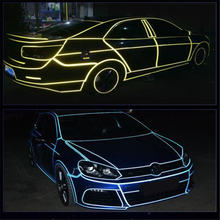 Автомобильный интерьерный светильник светодиодный 2 м 3 5 12