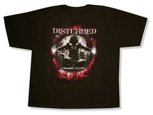 Disturbed Lost Children Album Cover Black T-Shirt New Adult Band Harajuku Tee Shirt(China)