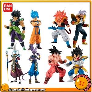 Image 1 - BANDAI jouet de gazhapon en PVC, personnage réel de haute qualité pour bébé, Original Broly Gokou Gogeta