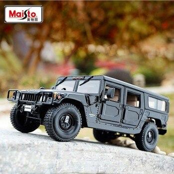 Maisto 1:18 Hummer H1 static simulation die-casting alloy model car toy collection gift off-road SUV alloy car model автомобиль радиоуправляемый rastar 1 6 hummer h1 suv желтый