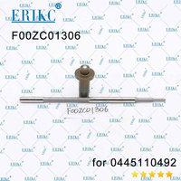 ERIKC F00ZC01306 euro 5 injector oil return control valve F 00Z C01 306 common rail injector valve for bosch 0445110492